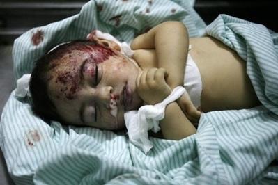 Seorang Bocah Palestina mati terbunuh akibat serangan Israel
